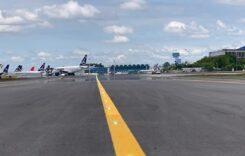"""Aeroportul Internațional Henri Coandă București dispune din nou de calea de rulare """"Delta""""."""