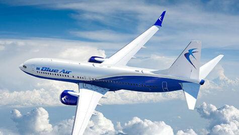 Blue Air opereaza din 4.09.2020, 7 zboruri pe săptămână catre Amsterdam (AMS)