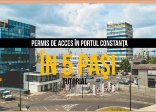 Permise de acces auto in porturile maritime romanesti