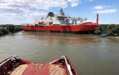 Traficul navelor pe canalul Sulina a fost reluat in urma incidentului naval
