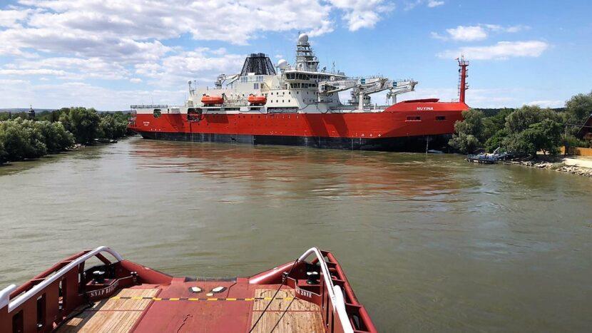 Trafic reluat in urma incidentului naval