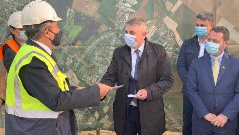 Lucian Bode: Intregul lot 2 al Centurii de Sud a Municipiului București este in faza de execuție
